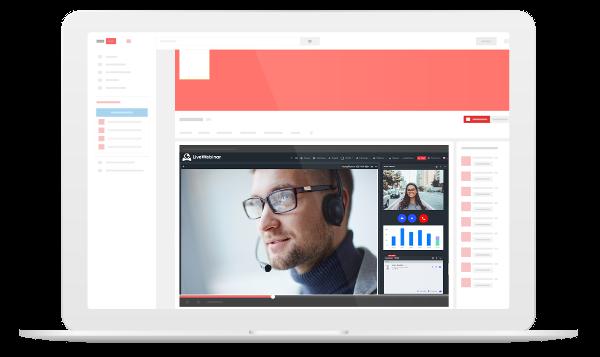 Broadcast webinar software