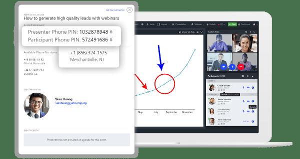 LiveWebinar Phone Bridge