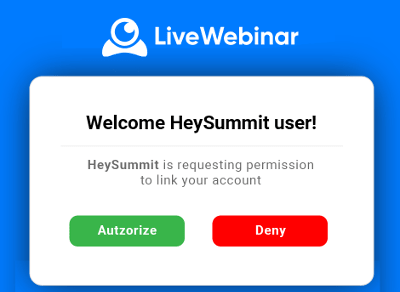 Heysummit integration setup