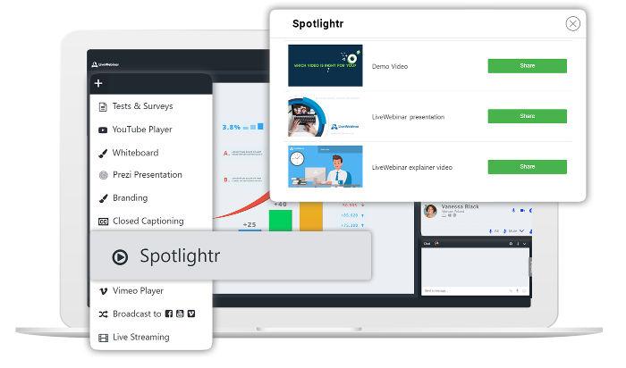 Spotlightr integration