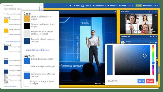 customizable online event platform - LiveWebinar