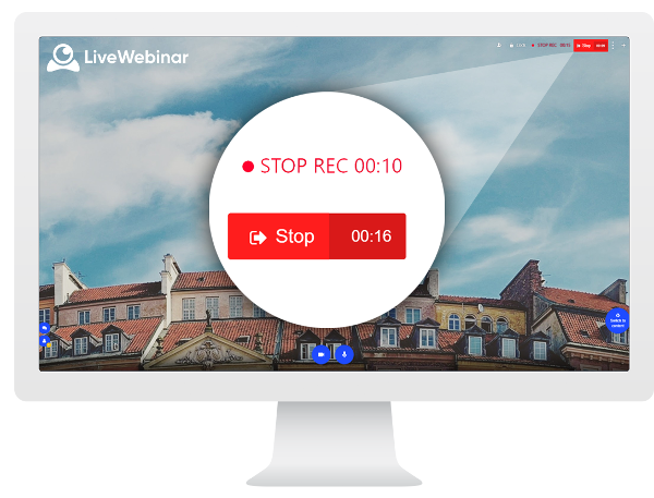 Record Your Webinar with a Built-in Recorder